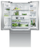 "Freestanding French Door Refrigerator Freezer, 32"", 16.9 cu ft, Ice gallery image 3.0"