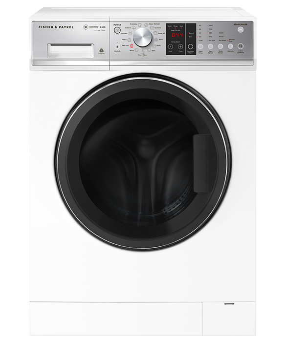 Front Loader Washing Machine, 8.5kg with Steam Refresh, pdp