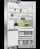 Freestanding Refrigerator Freezer, 68cm, 413L gallery image 3.0