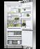 Freestanding Refrigerator Freezer, 68cm, 413L, Ice & Water gallery image 2.0