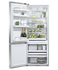 "Freestanding Refrigerator Freezer, 25"", 13.5 cu ft, Ice & Water gallery image 2.0"