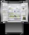 Freestanding French Door Refrigerator Freezer, 90cm, 614L, Ice & Water gallery image 3.0