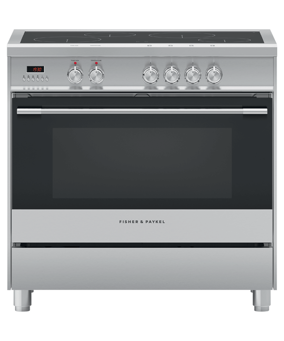 Freestanding Cooker, Induction, 90cm, 4 Zones, pdp