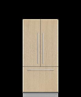 """Integrated French Door Refrigerator Freezer, 32"""", Ice & Water, hi-res"""