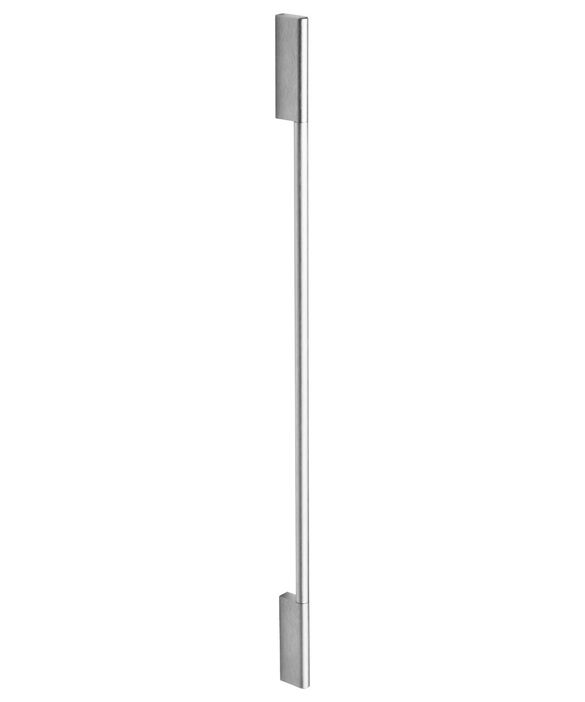 Contemporary Round Handle Kit for Integrated Column Refrigerator or Freezer, All widths, pdp