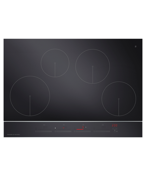 "Induction Cooktop, 30"", 4 Zones, pdp"