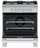"Gas Range, 30"", 4 Burners gallery image 3.0"