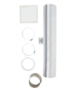 Wall Vent Kit 125mm