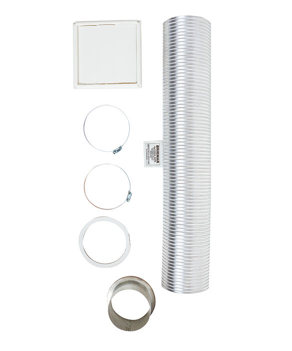 Wall Vent Kit 125mm, pdp
