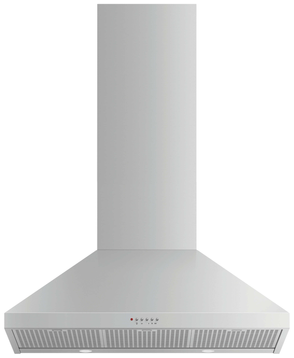 Wall Rangehood, 90cm, Pyramid Chimney, pdp