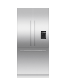 """Integrated French Door Refrigerator Freezer, 36"""", Ice & Water, hi-res"""