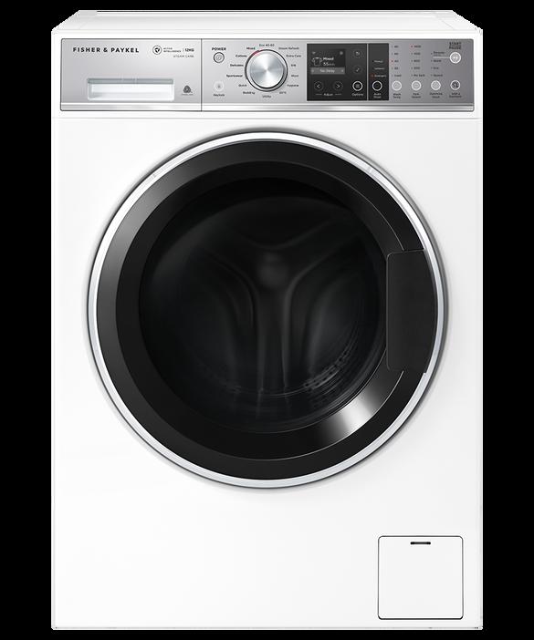 Front Loader Washing Machine, 12kg, ActiveIntelligence™, Steam Care, pdp