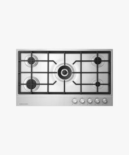 Gas on Steel Hob, 90cm