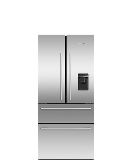 Freestanding French Door Refrigerator Freezer, 32