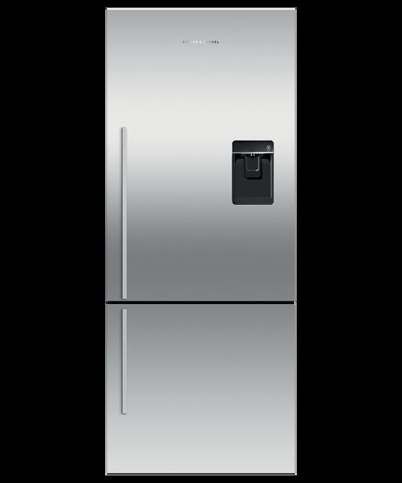 Freestanding Refrigerator Freezer, 68cm, 413L, Ice & Water, pdp