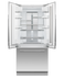 Integrated French Door Refrigerator Freezer, 80cm gallery image 5.0