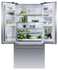 Freestanding French Door Refrigerator Freezer, 79cm, 519L gallery image 3.0