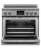 """Induction Range, 36"""", 5 Zones with SmartZone, Self-cleaning gallery image 2.0"""