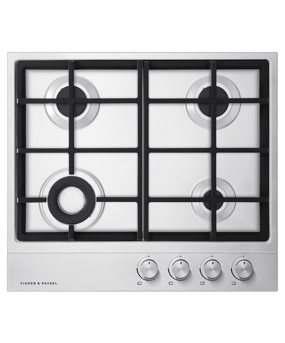 Gas on Steel Cooktop, 60cm, pdp