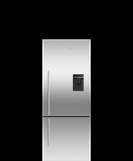 Freestanding Refrigerator Freezer, 63.5cm, 380L, Ice & Water
