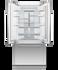 "Integrated French Door Refrigerator Freezer, 32"", Ice & Water gallery image 2.0"