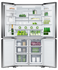 Freestanding Quad Door Refrigerator Freeze, 90.5cm, 538L, Ice & Water gallery image 3.0