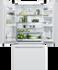 Freestanding French Door Refrigerator Freezer, 79cm, 519L gallery image 3.0