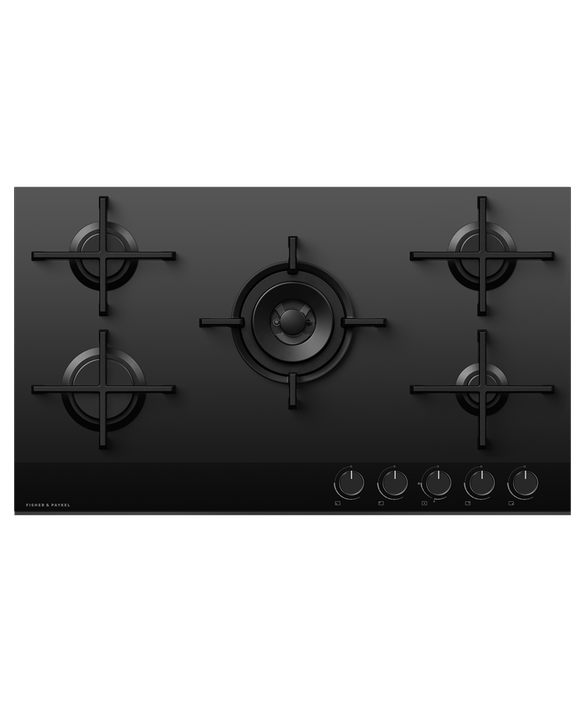 Gas on Glass Cooktop, 90cm, LPG, pdp