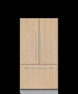 Integrated French Door Refrigerator Freezer, 90cm