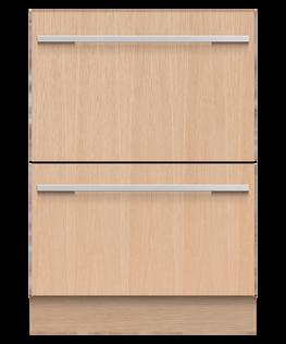Integrated Double DishDrawer™ Dishwasher, Sanitize