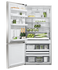Freestanding Refrigerator Freezer, 79cm, 469L, Ice & Water gallery image 3.0