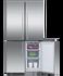 Freestanding Quad Door Refrigerator Freezer , 90.5cm, 538L gallery image 3.0