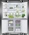 Freestanding Quad Door Refrigerator Freezer, 90.5cm, 538L gallery image 3.0