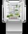 Integrated French Door Refrigerator Freezer, 80cm, Ice & Water gallery image 3.0