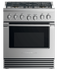 "Dual Fuel Range, 30"", 5 Burners gallery image 1.0"