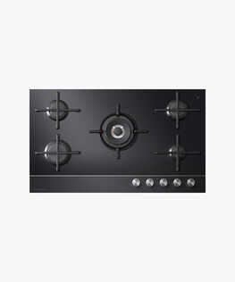 Gas on Glass Cooktop, 90cm