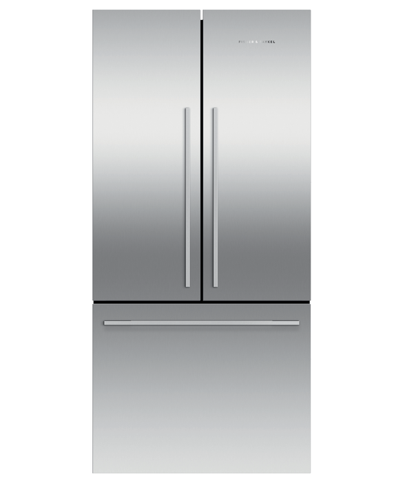"Freestanding French Door Refrigerator Freezer, 32"", 16.9 cu ft, Ice, pdp"