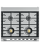 "Dual Fuel Range, 30"", 4 Burners, Self-cleaning gallery image 4.0"