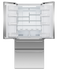 """Freestanding French Door Refrigerator Freezer, 32"""", 16.9 cu ft, Ice & Water gallery image 2.0"""
