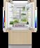 Integrated French Door Refrigerator Freezer, 80cm gallery image 3.0