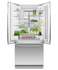 Integrated French Door Refrigerator Freezer, 80cm gallery image 6.0