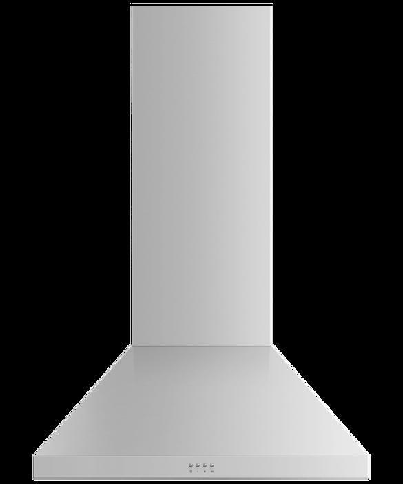 """Wall Range Hood, 30"""", Pyramid Chimney, pdp"""