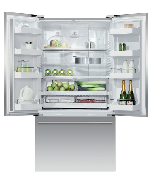 """Freestanding French Door Refrigerator Freezer, 36"""", 20.1 cu ft, pdp"""