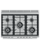 "Gas Range, 36"", 5 Burners gallery image 5.0"