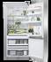 Freestanding Refrigerator Freezer, 79cm, 469L, Ice & Water gallery image 2.0