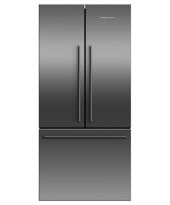 Freestanding French Door Refrigerator Freezer, 79cm, 443L, pdp
