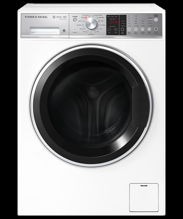 Front Loader Washing Machine, 10kg, Steam Refresh, pdp