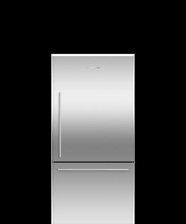 Freestanding Refrigerator Freezer, 79cm, 491L