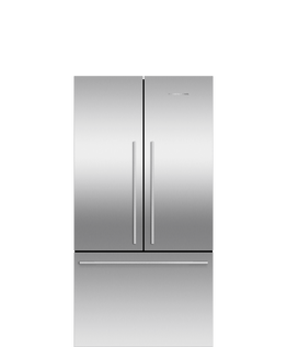 Freestanding French Door Refrigerator Freezer, 90cm, 545L