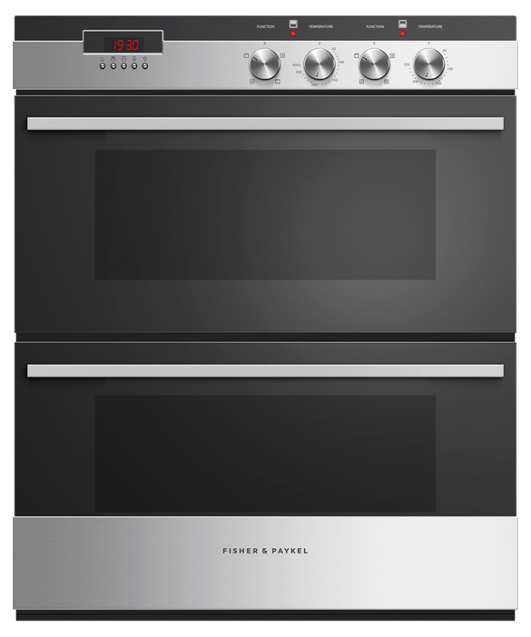 Double Oven, 60cm, 4 Function, pdp